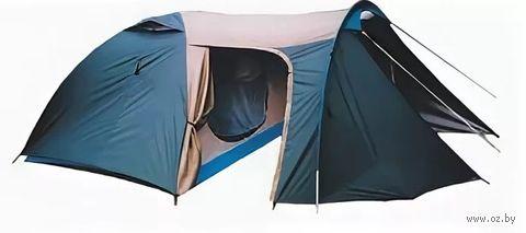 """Четырехместная двухслойная палатка с увеличенным тамбуром """"Верас"""""""