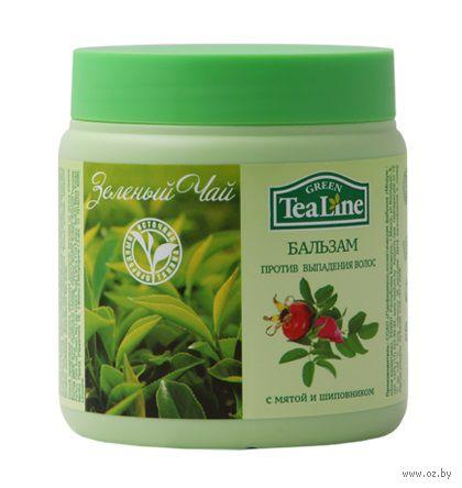 """Бальзам для волос """"Зеленый чай с мятой и шиповником"""" (500 мл)"""