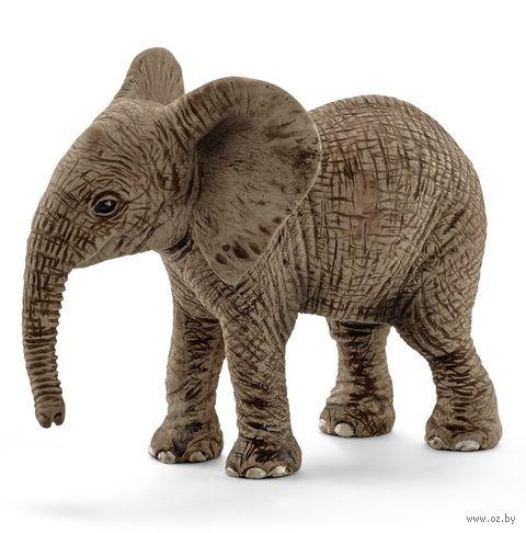 "Фигурка ""Африканский слон. Детеныш"" (5,5 см) — фото, картинка"