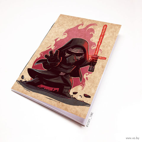 """Блокнот крафт """"Звездные войны"""" (А5; арт. 891) — фото, картинка"""