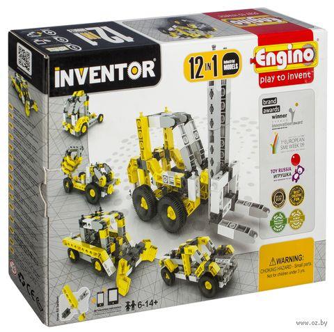 """Конструктор """"Inventor. Спецтехника"""" (125 деталей)"""