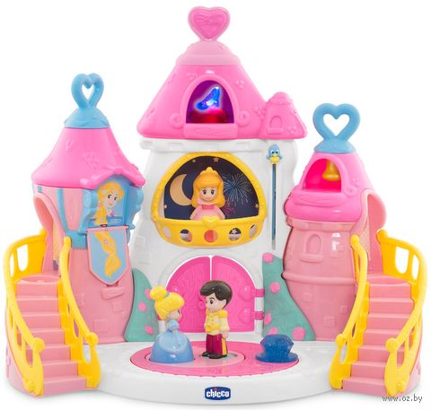 """Дом для кукол """"Волшебный замок принцесс Disney"""" (со световыми и звуковыми эффектами) — фото, картинка"""