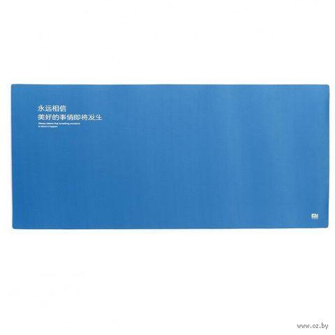 Коврик для мыши Xiaomi Mouse Pad XL (синий) — фото, картинка