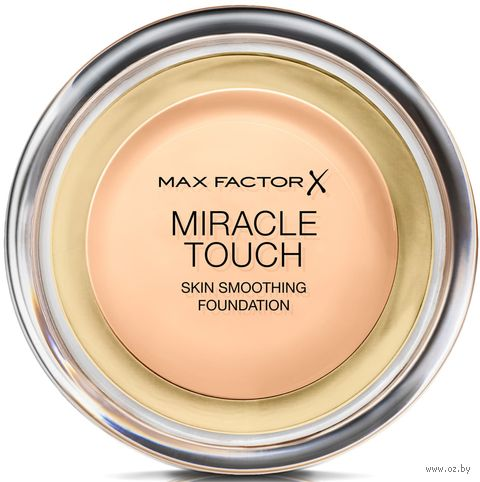"""Тональный крем для лица """"Miracle Touch Skin Smoothing Foundation"""" тон: 040 — фото, картинка"""