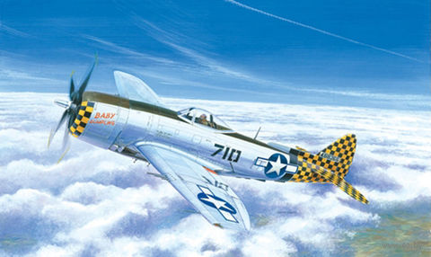 "Истребитель-бомбардировщик ""P-47 N Thunderbolt"" (масштаб: 1/72) — фото, картинка"