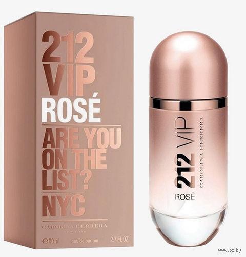 "Парфюмерная вода для женщин Carolina Herrera ""212 VIP Rose"" (80 мл)"