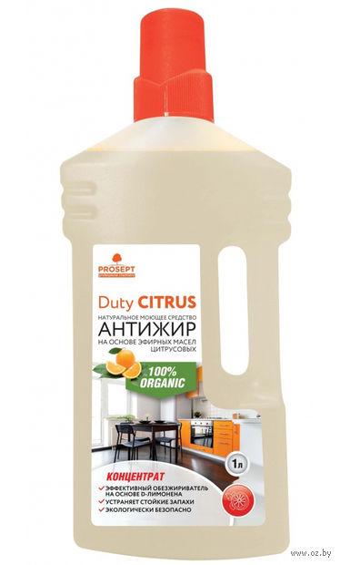 """Средство чистящее универсальное """"Для удаления жира. Duty Citrus"""" (1 л) — фото, картинка"""