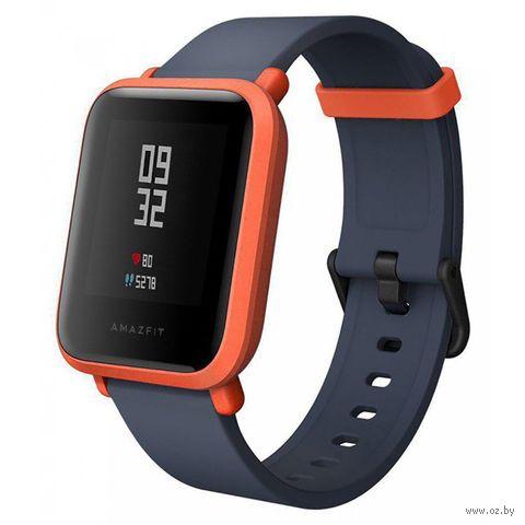 Умные часы Xiaomi Amazfit Bip (оранжевые) — фото, картинка