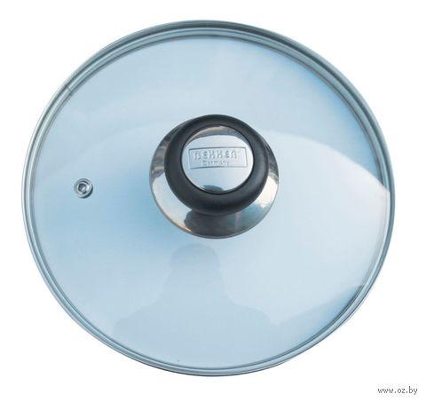 Крышка стеклянная с пароотводом (24 см; арт. 4G-006)