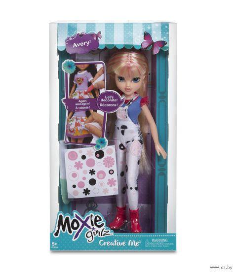 "Кукла ""Moxie Girlz. Раскрась меня - Эйвери"""