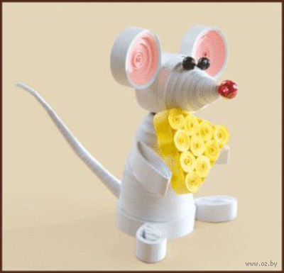 "Набор для квиллинга ""Мышка"""