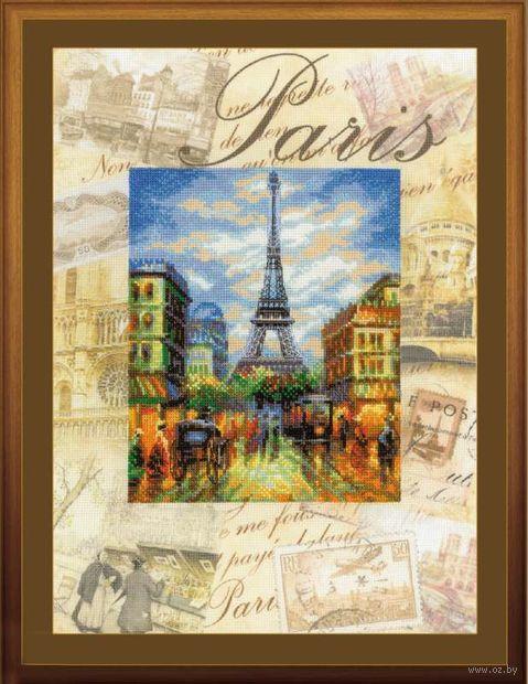 """Вышивка крестом """"Города мира. Париж"""" (арт. РТ-0018)"""