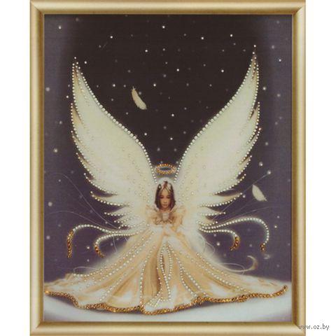 """Алмазная вышивка-мозаика """"Рождественский ангел"""""""