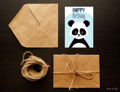 """Открытка """"Happy Birthday"""" (арт. 3) — фото, картинка"""