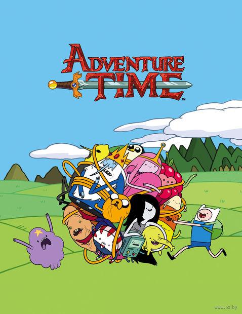"""Блокнот """"Adventure Time"""" (162x210 мм) — фото, картинка"""