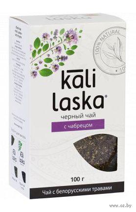 """Чай черный листовой """"Kali Laska. С чабрецом"""" (100 г) — фото, картинка"""