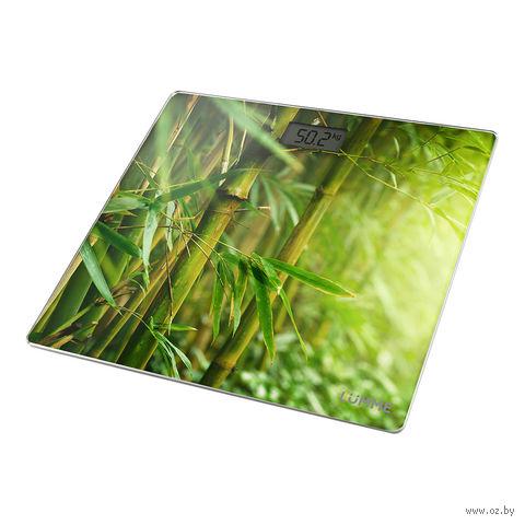 Напольные весы Lumme LU-1328 (бамбуковый лес) — фото, картинка