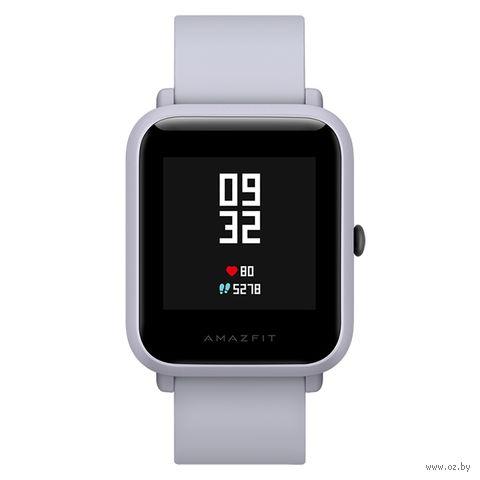 Умные часы Xiaomi Amazfit Bip (белые) — фото, картинка