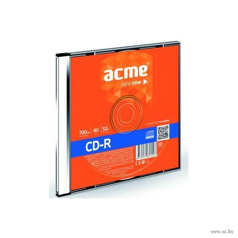 Диск CD-R 700 Мб 52х Acme (Slim Box)