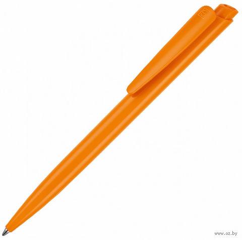 """Ручка шариковая автоматическая """"Dart"""" (оранжевая; синий стержень)"""