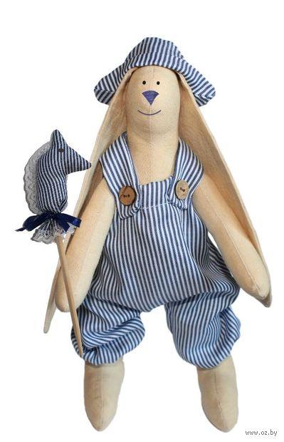 """Набор для шитья из ткани """"Кукла. Зайка Илюша"""""""