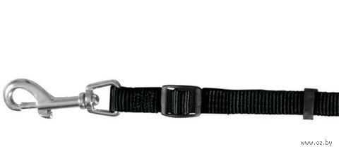 """Поводок регулируемый для собак """"Classic"""" (размер L-XL, 120-180 см, черный, арт. 14131)"""