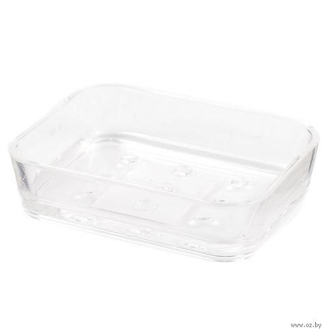 Подставка для мыла пластмассовая (12*9*3 см; арт. 955836)