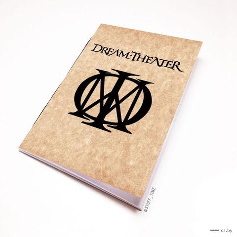 """Блокнот крафт """"Dream Theater"""" А6 (064)"""