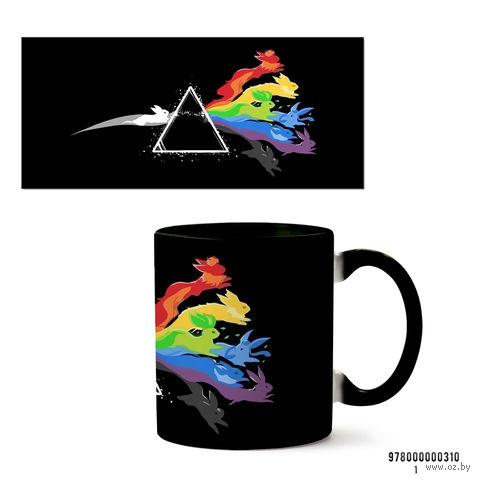 """Кружка """"Pink Floyd"""" (арт. 310, черная)"""