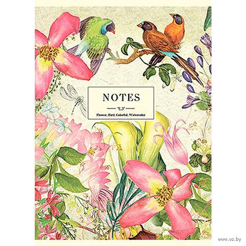 "Блокнот ""Flowers and Birds"" А6 (40 листов)"
