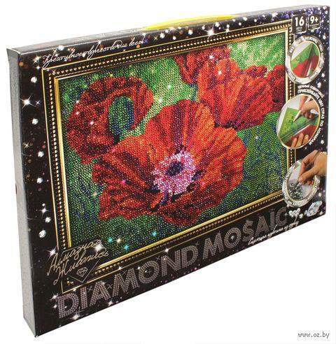"Алмазная вышивка-мозаика ""Маки"" (300х400 мм) — фото, картинка"
