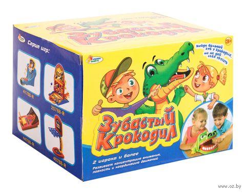 Зубастый крокодил — фото, картинка