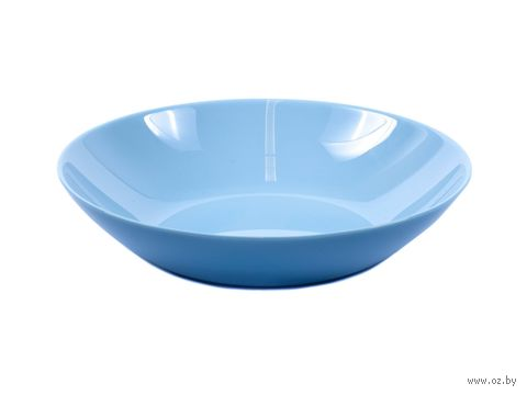 """Тарелка стеклокерамическая """"Diwali Light Blue"""" (200 мм) — фото, картинка"""