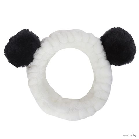 "Повязка для волос ""Панда"" — фото, картинка"