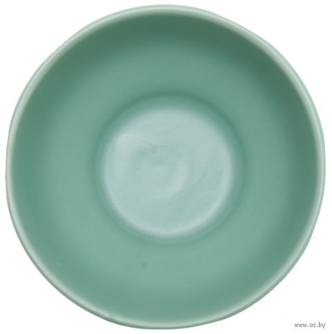 """Тарелка керамическая """"Organic"""" (150 мм; зеленая) — фото, картинка"""