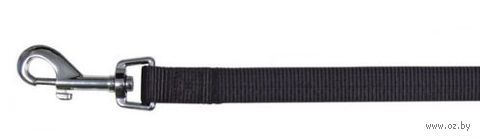 """Поводок нерегулируемый для собак """"Classic"""" (размер XS-S, 120 см, черный, арт. 14071)"""