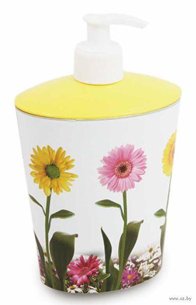 Дозатор для жидкого мыла пластмассовый (11*8*18 см; арт. D050-X06)