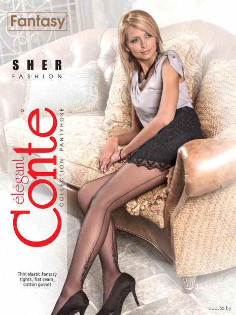 """Колготки женские фантазийные """"Conte. Sher"""""""