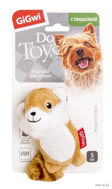 """Игрушка для собак """"Лисичка"""" (9 см)"""