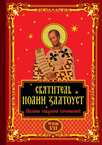 Полное собрание сочинений святителя Иоанна Златоуста в двенадцати томах. Том VII — фото, картинка
