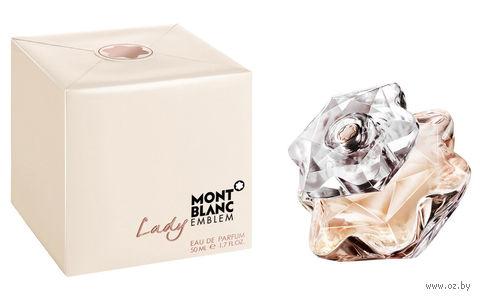 """Парфюмерная вода для женщин Mont Blanc """"Lady Emblem"""" (50 мл) — фото, картинка"""