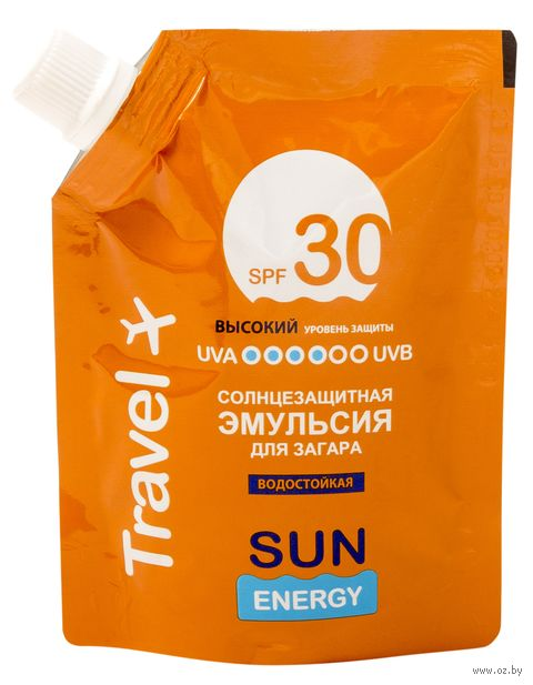 "Эмульсия солнцезащитная для тела ""Travel"" SPF 30 (90 мл) — фото, картинка"