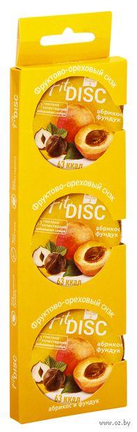 """Снек """"Fit Disc. Абрикос и фундук"""" (75 г) — фото, картинка"""
