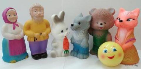 """Набор игрушек для купания """"Колобок"""" (7 шт.) — фото, картинка"""