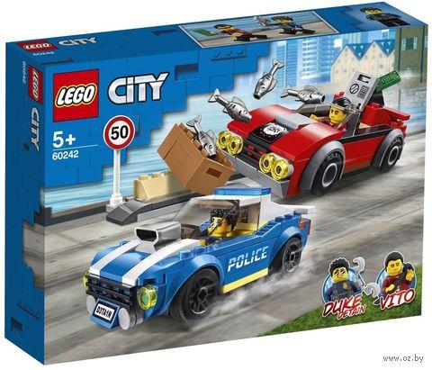 """LEGO City """"Арест на шоссе"""" — фото, картинка"""