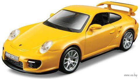 """Модель машины """"Bburago. Porsche 911 GT2"""" (масштаб: 1/32) — фото, картинка"""