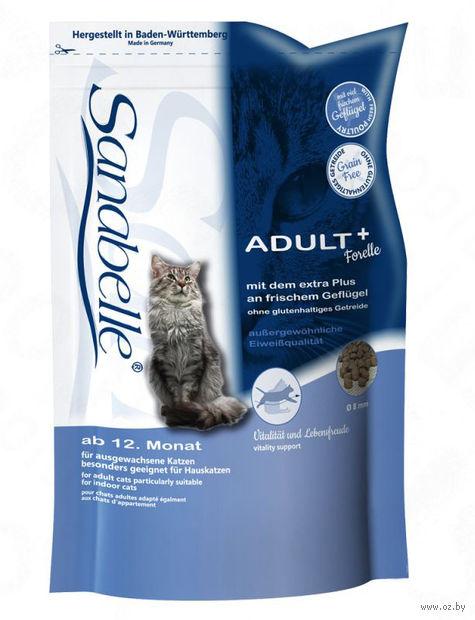 "Корм сухой для кошек ""Adult"" (2 кг; форель) — фото, картинка"