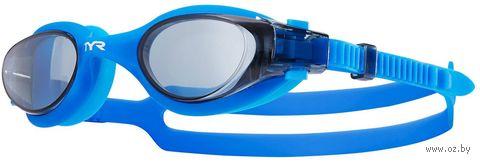 Очки для плавания (голубые; арт. LGHYB/156) — фото, картинка