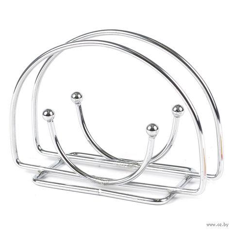 Подставка для салфеток металлическая (140х85х30 мм)