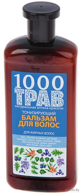 "Бальзам для волос ""1000 трав. Тонизирующий"" (500 мл) — фото, картинка"